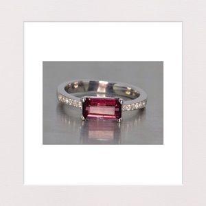 Jewelry - Rhodolite Garnet & Sterling Silver Ring | Size 6